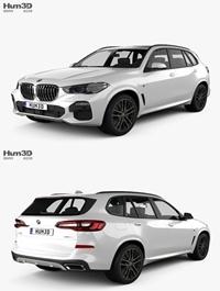 BMW X5 (G05) M sport 2019 3D Model