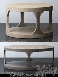 MARTENS, ROUND ,COFFEE ,TABLE