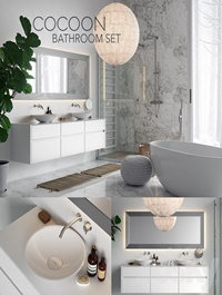 COCOON Bathroom Set