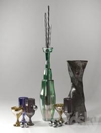 Glass Decor Set v.1