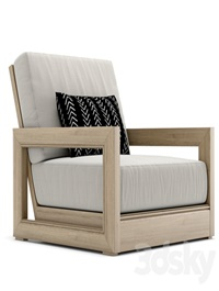 RH Outdoor Costa armchair