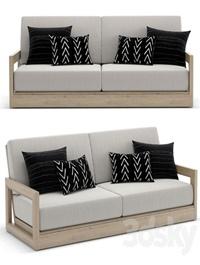 RH Outdoor Costa sofa