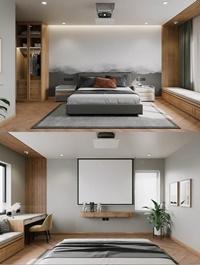 Bedroom Scene By TuanHoan