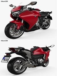 Honda VFR1200F 2015 3D model