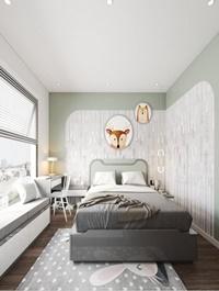 Bedroom Sketchup Scene 55