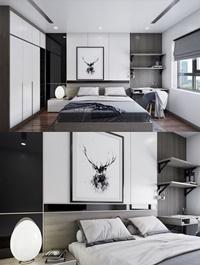 Modern Style Bedroom 560