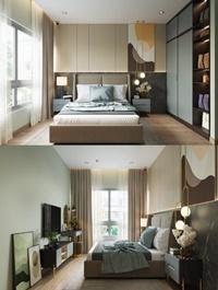 Modern Style Bedroom 562