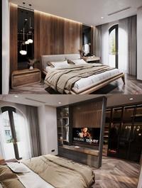 Modern Style Bedroom 556