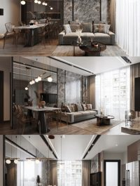 Interior Modern Apartment 10
