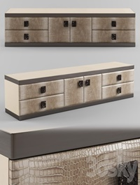 Longhi ASPEN Leather sideboard