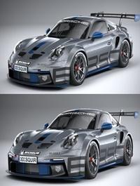 CGtrader - Porsche 911 GT3 Cup 2021