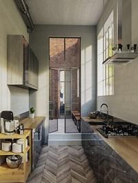 Kitchen Vray & Corona 3D Scene