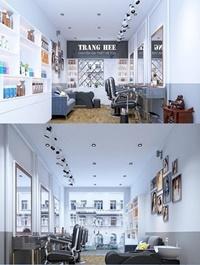 Hair Salon 02 Interior Scene