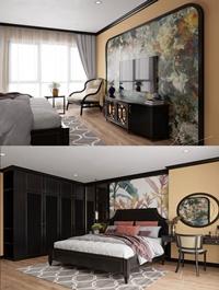 Modern Style Bedroom 616