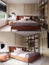 Modern Style Bedroom 613