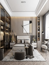 Modern Style Bedroom 612