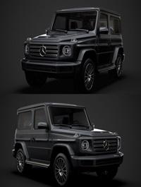 Mercedes Benz G 550 3d W463 2020 3D Model