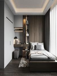 Modern Style Bedroom 609