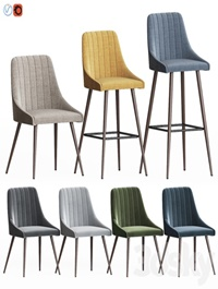 Amos chair set