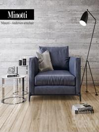 Minotti, Andersen, armchair