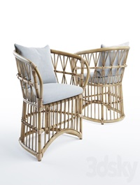 San francisco rattan chair