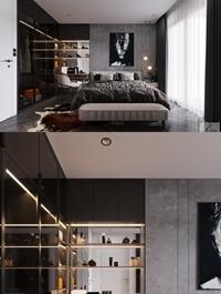 Modern Style Bedroom 625