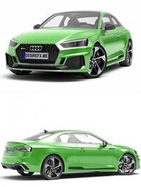 Audi RS5 QUATTRO 2019 3D Model