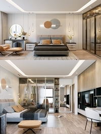 Modern Style Bedroom 624