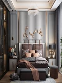 Modern , Style, Bedroom, 622