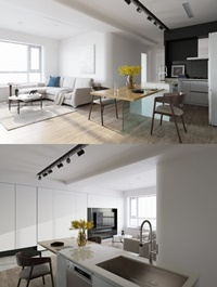 Interior Modern Apartment 11