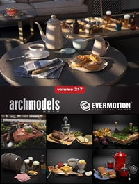 EVERMOTION Archmodels vol. 217