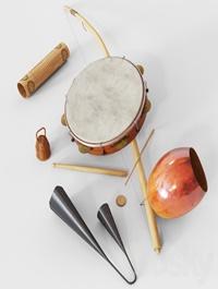 Capoeira music set