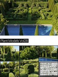 Maxtree Plant Models Vol. 28