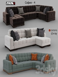 Sofas Sofia - 4 Factory NOVAYA Furniture