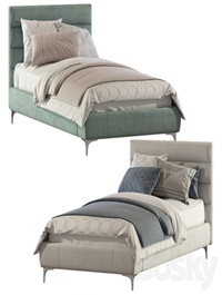 Bed Pfeiffer Upholstered Bed 2