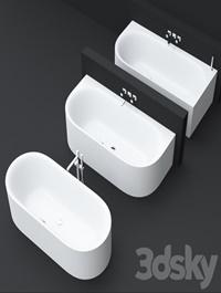 BetteLux Oval bathtubs by Bette