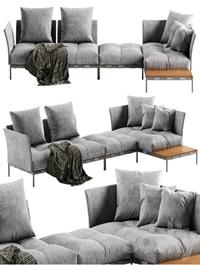 Saba Italia Pixel Light sofa 3