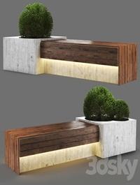 Bench1150-280cm