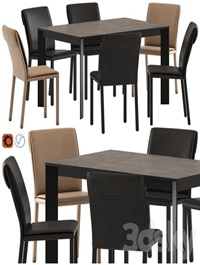 Altacom Molly Chair and Teorema Table