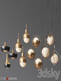 Pendant Light Collection 15 - 4 Type
