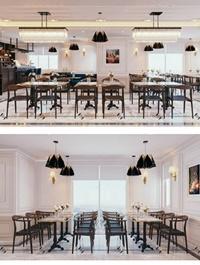 Restaurant Interior Scene By Ngo Nguyen Trung