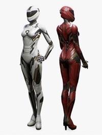 SciFi Female Suit