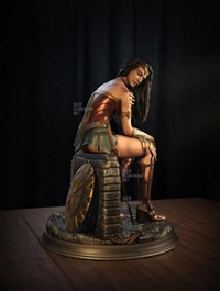 Wonder Woman - Gal Gadot - 3D Print Model