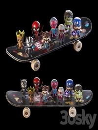 Toys MARVEL 3D model