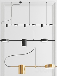 Counterpoint LED Linear Pendant - 6 light