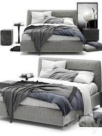 Bed jacqueline poliform