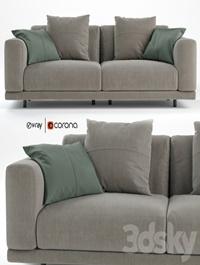 Nevyll sofa by Diter italia 230x106 cm