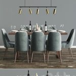 Modern Dinning Set 6