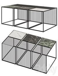 NV Gallery Skye Marble Coffee Table