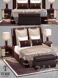Turri Diamonds Bed